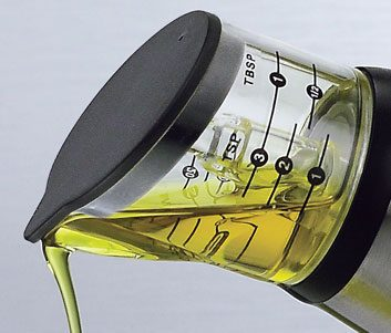 oil measure bottle