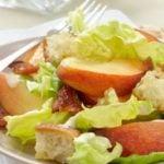 Peach Caesar Salad