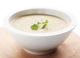 Creamy Parsnip and Pear Soup