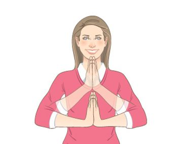 Prayer Wrist Stretch