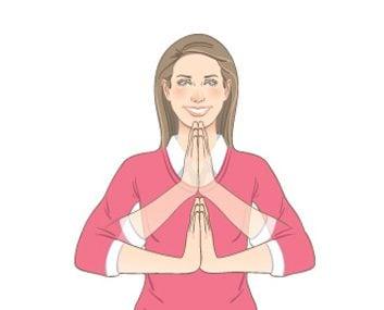 Prayer Wrist Stretch