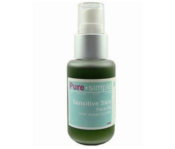 4. Pure + Simple Sensitive Skin Face Oil