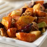 Roasted Vegetables with Walnut Vinaigrette