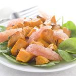Roasted Sweet Potato and Grapefruit Salad