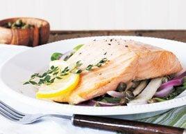 Tray-Baked Salmon