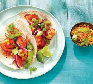 Grilled Shrimp Soft Tacos