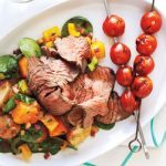 Steak-with-Warm-Sweet-Potato-Salad