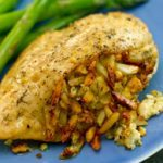 Stuffed-Chicken-Breast-with-Almonds-and-Blue-Cheese