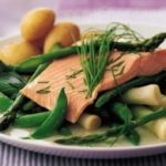 Summer Salmon and Asparagus