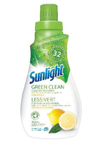 Sunlight detergent