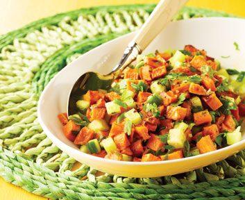 Sweet Potato and Cucumber Salad | Best Health Magazine Canada
