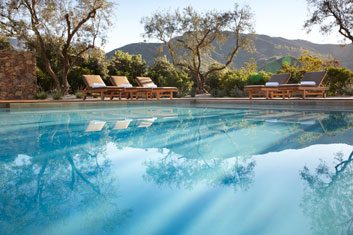 The destination: The Ranch at Live Oak, Malibu, California