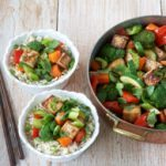 Seasonal Vegetable & Tofu Stir-fry