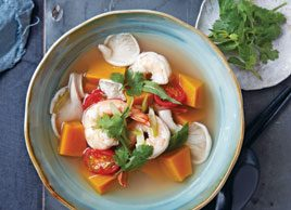 Thai 'Tom Yum' Prawn Soup
