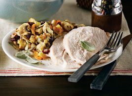 Sage-Brined Turkey Breast