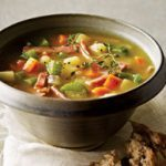 Vegetable and Turkey-Bacon Soup