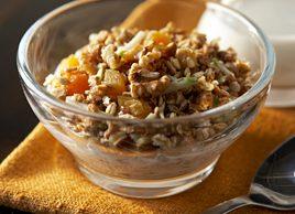 walnut breakfast cereal