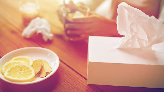 When to call in sick, runny nose
