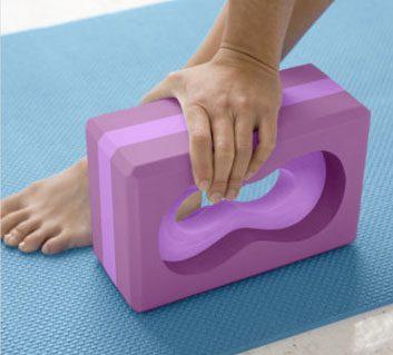 Gaiam All-Grip Yoga Block
