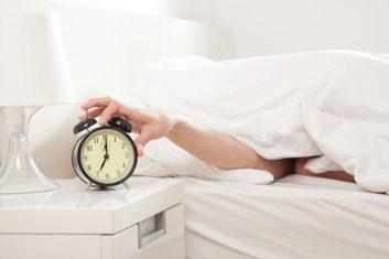 alarm clock sleep