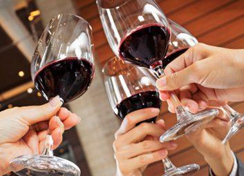 drinking wine alcohol