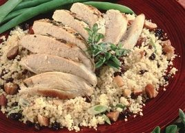 Almond-Currant Couscous