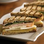 Apple, Aged Cheddar and Smoked Turkey Panini