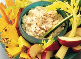 Spicy Date, Apple and Cheese Dip