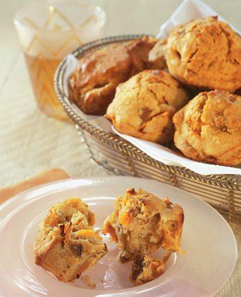Apricot-Pecan Muffins