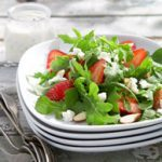 Arugula & Strawberry Salad