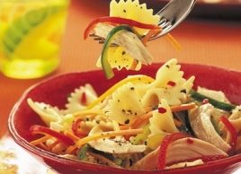 Asian-Style Chicken and Pasta Salad