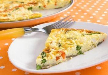 Mark McEwan's Asparagus '& Goat Cheese Frittata