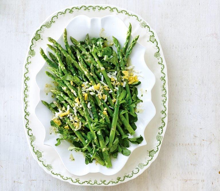 asparagus mimosa salad