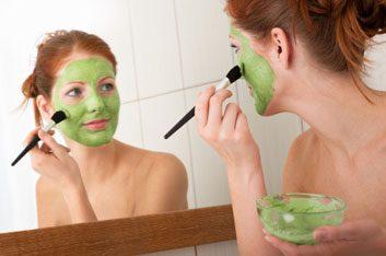 Moisturizing avocado mask