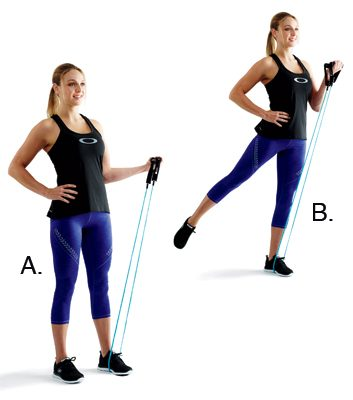 Balancing biceps curls: 1 minute