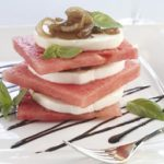 Balsamic Caramelized Onion Caprese