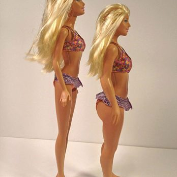 Body image: Imagine Barbie with actual human proportions
