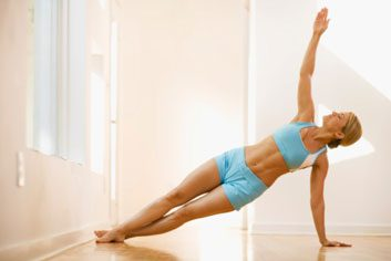 barefoot yoga fitness