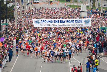 2. Around the Bay Road Race