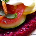 Sunflower Seed Beet Pizza