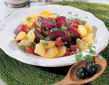 Spicy Root Vegetable Salad