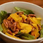 Meatless Monday: Golden Beet, Mango and Mixed Green Salad