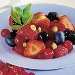 Berry Salad with Passion Fruit