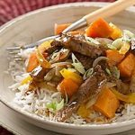 Beef and Sweet Potato Stir-Fry