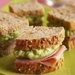 Green Eggs and Ham Sandwich
