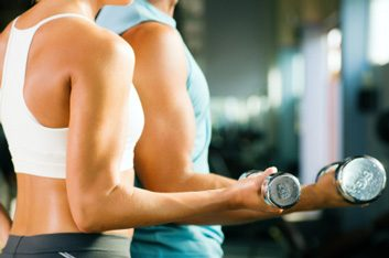 bicep curl weights arm exercise