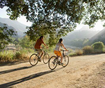 biking nature