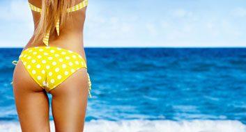 bikini butt summer