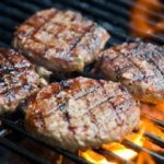 Bison Burgers with Gorgonzola Cheese and Sun-Dried Tomatoes