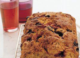 Black-Currant Tea Bread